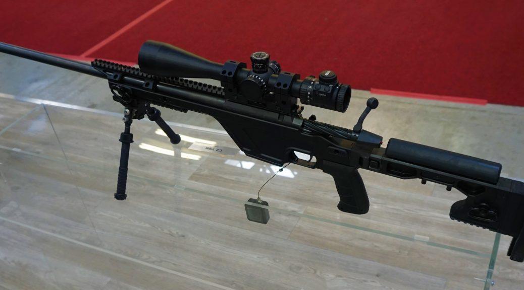CZ TSR Sniper rifle