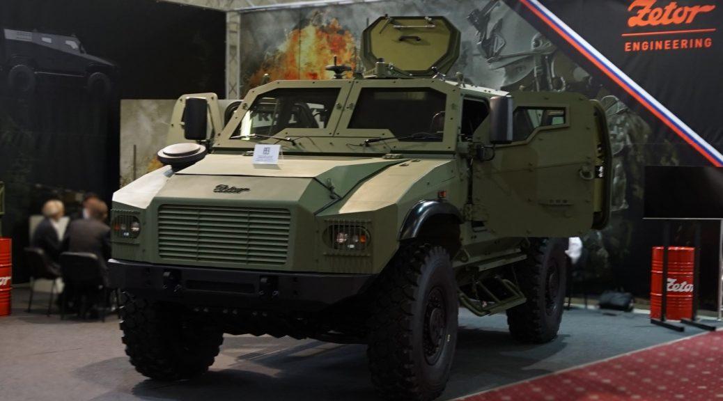 Taktické obranné vozidlo 4x4 Gerlach - Nosnosť 1,5 tony, balistická ochrana + rychlosti 110 km/h!